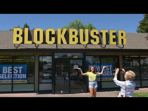 Christie James - There's Now Only One Blockbuster Left On The Planet