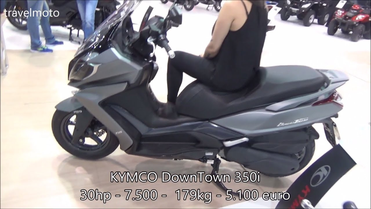 the kymco downtown 350i scooter 2017 youtube. Black Bedroom Furniture Sets. Home Design Ideas
