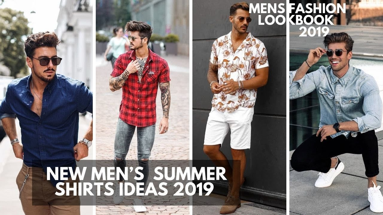 New Best Summer Shirt Men's Should Wear | Hot Summer Fashion For Men | Lookbook2019 2