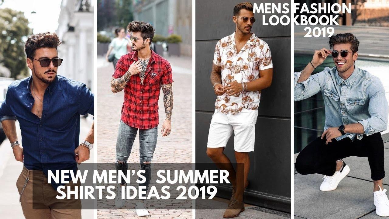 New Best Summer Shirt Men's Should Wear | Hot Summer Fashion For Men | Lookbook2019 2