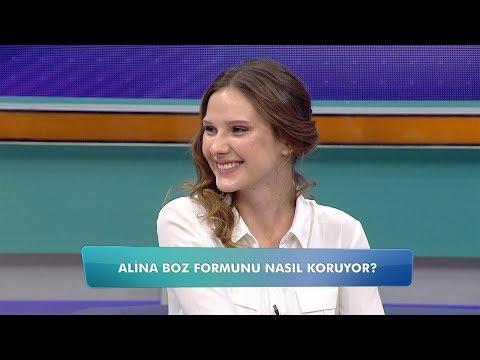 Alina Boz formunu nasıl koruyor? Balçiçek ile Dr. Cankurtaran 8. Bölüm