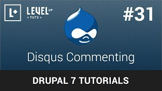 Drupal Tutorials #31 - Disqus Commenting