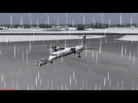 Bombardier Dash 8-Q400 Thunder Bay (CYQT) to Toronto (CYYZ) P3D v3.4
