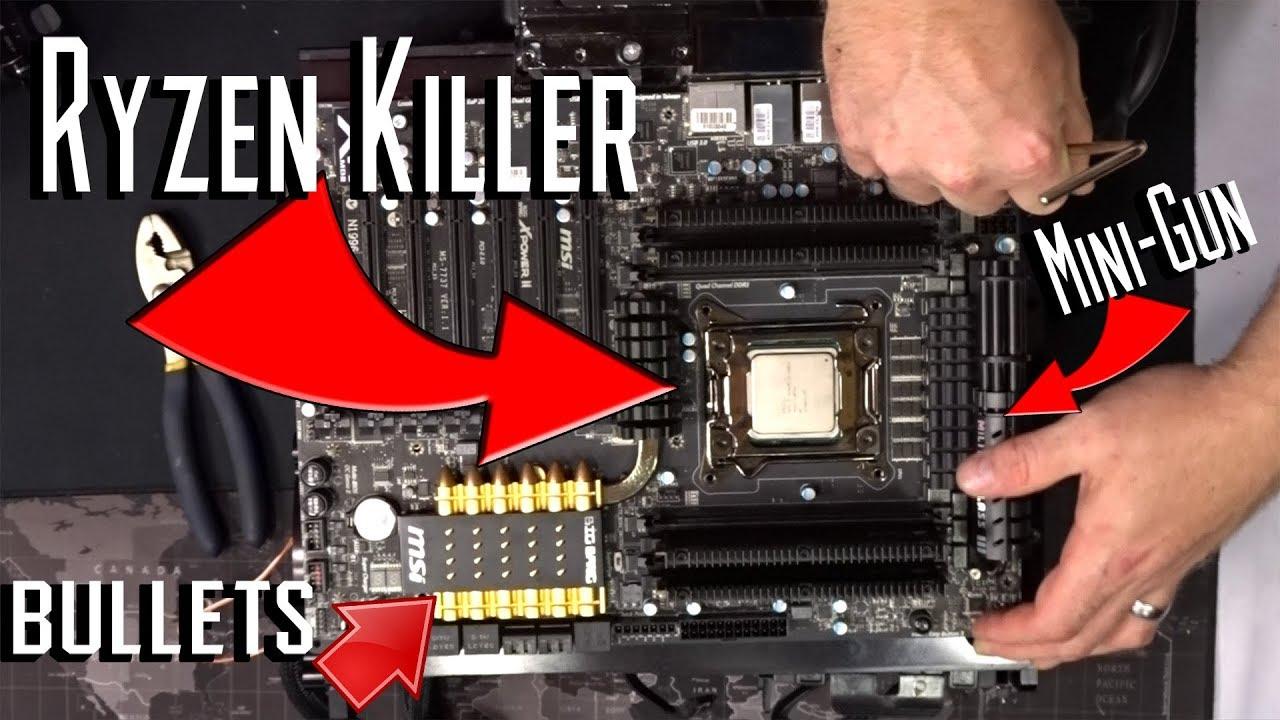 Intel x79 + 8 core Xeon BETTER than Ryzen?! (kinda)