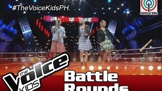 "The Voice Kids Philippines Battle Rounds 2016: ""Mirrors"" by Cahil, Heart & Jean"