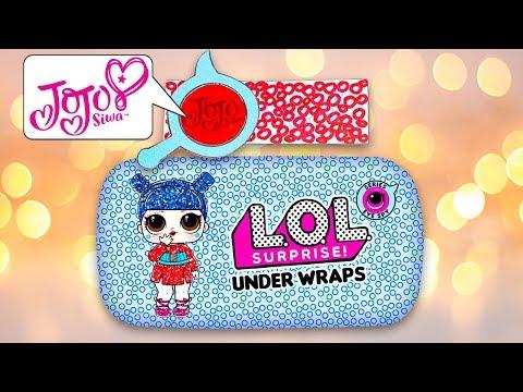 Opening 2D Paper Custom Decoder Eye Spy Under Wraps LOL Surprise Dolls #10