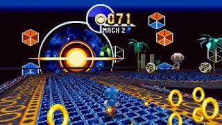 White Sonic & Hyper Sonic Mod In Sonic Mania (TEST)