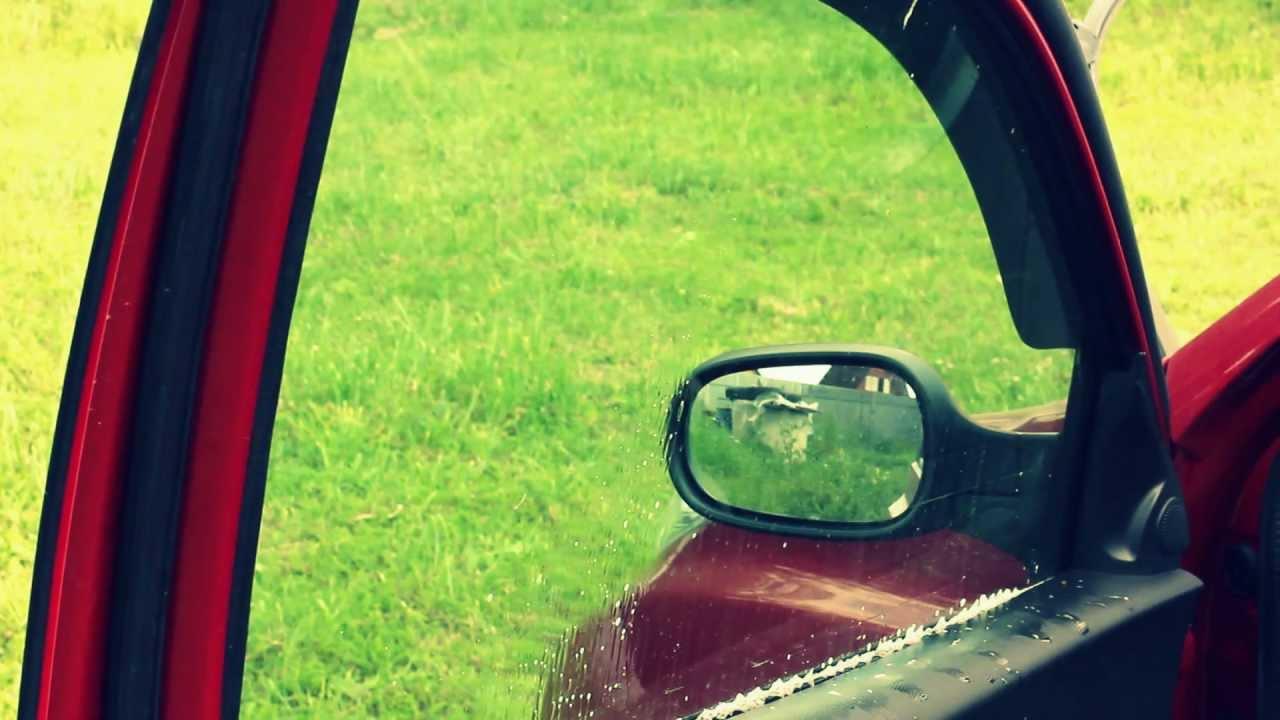 Как снять тонировку с передних стекл автомобиля