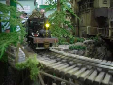 Twin Falls Mining & Logging Railroad – On30 Scale.