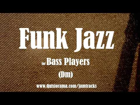 Download Youtube: Jazz Funk Bass Backing Track (Dm)