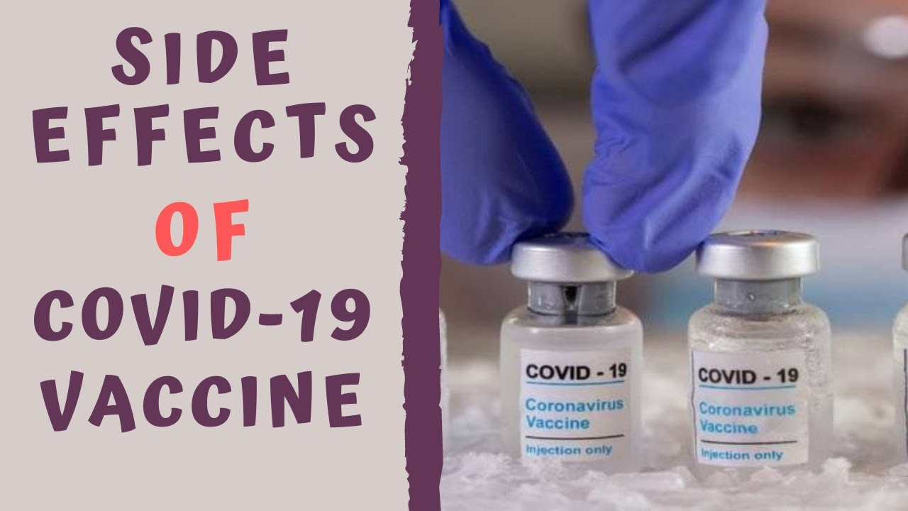 Download POTENTIAL SIDE EFFECTS COVID VACCINE - COVID-19 Vaccine Adverse effects & Allergy