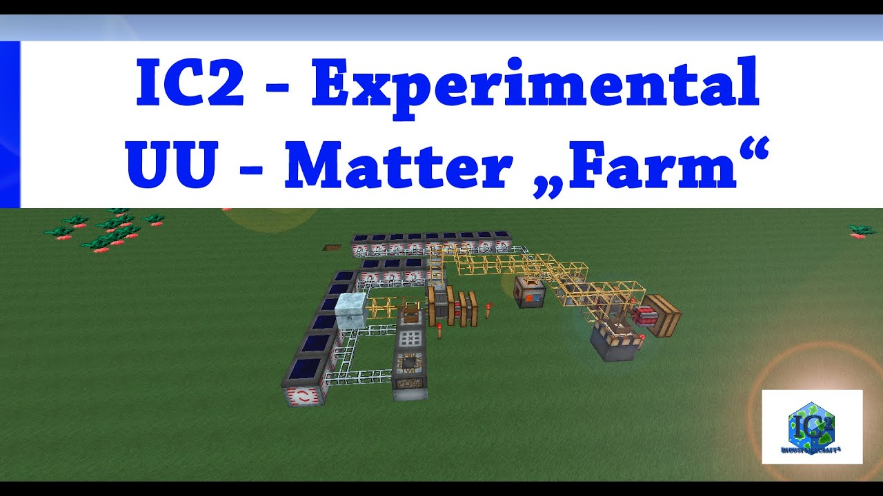 Minecraft Industrial Craft 2 Ic2 Experimental Uu Matter