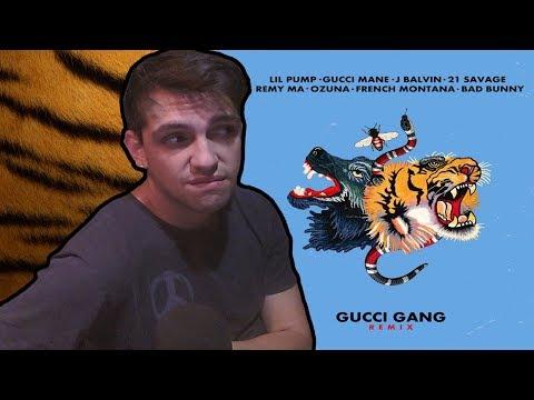 Lil Pump  Gucci Gang Remix  REACCION LICK