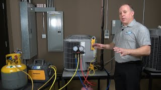 Checking Refrigerant Charge for R-410a Condensing Units Using Sub-cooling Method