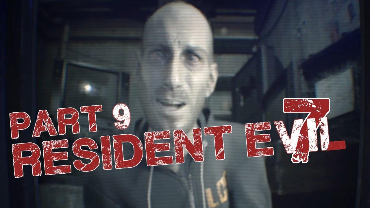 Resident Evil 7 | Part 9 - Barn Fight! - YouTube