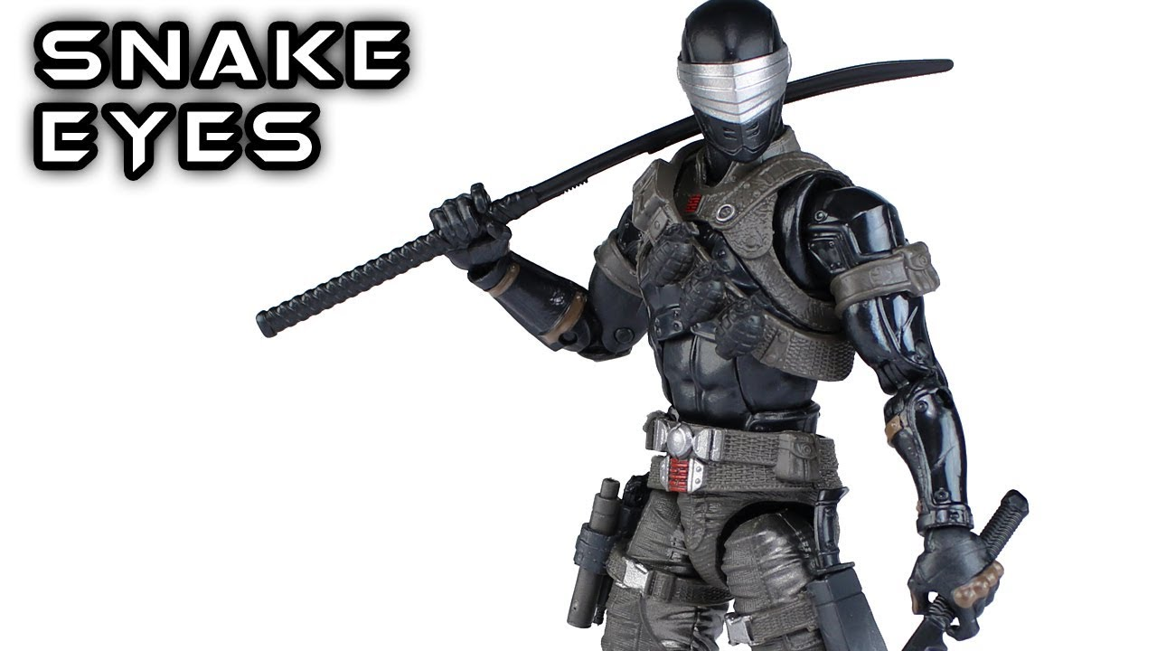 Download G.I. Joe Classified Series SNAKE EYES Deluxe Hasbro Pulse Exclusive Action Figure Review