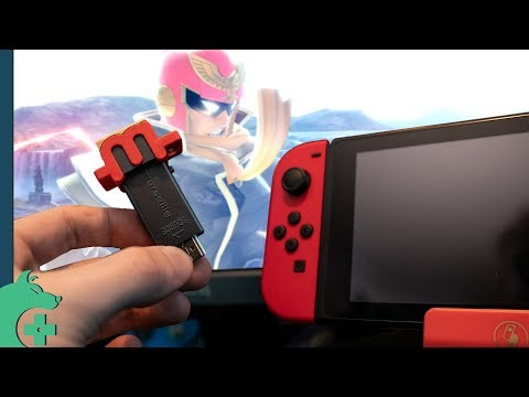 Make Your Own Nintendo Switch Pro With This Upscaler