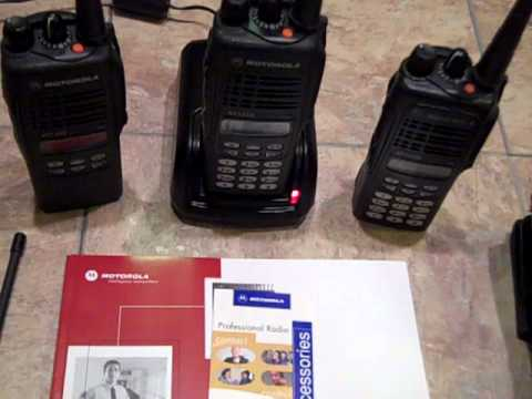 motorola ht1250 two way professional radios and accessories youtube