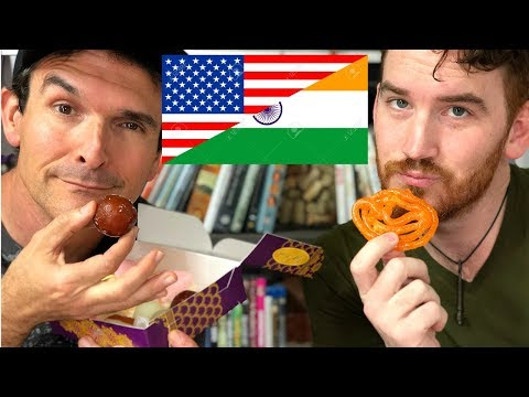 Americans Try Indian Desserts For The First Time!