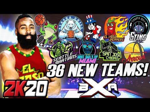 We Created 36 TEAMS In 2K20 - INSANE NBA 2K20 MyLeague EXPANSION! XBA Series Intro Fantasy Draft Ep1
