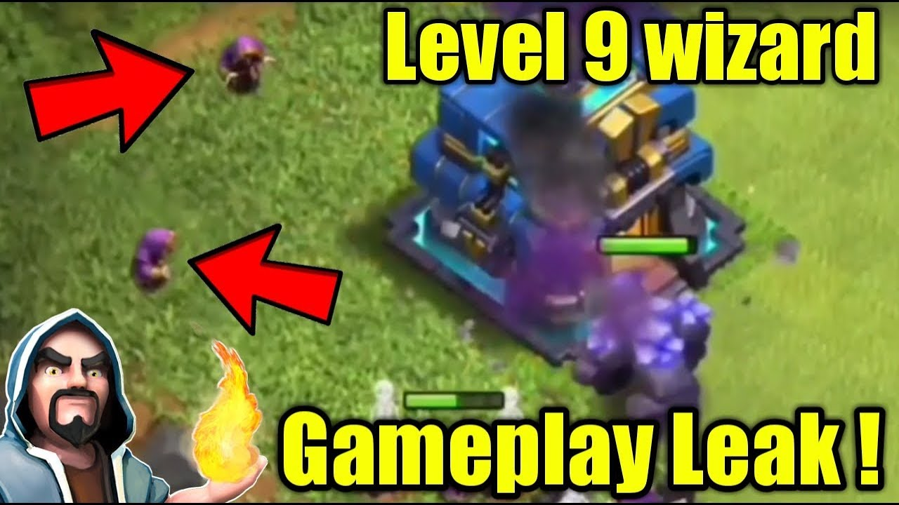 😱Level 9 Wizard Gameplay Update Leaks Townhall 12 ! Clash of Clans