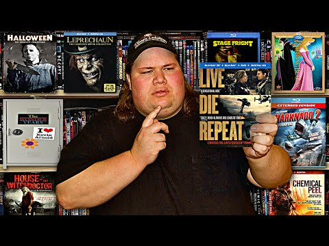 My Blu-ray Collection Update 10/4/14 : Blu ray and Dvd Movie Reviews