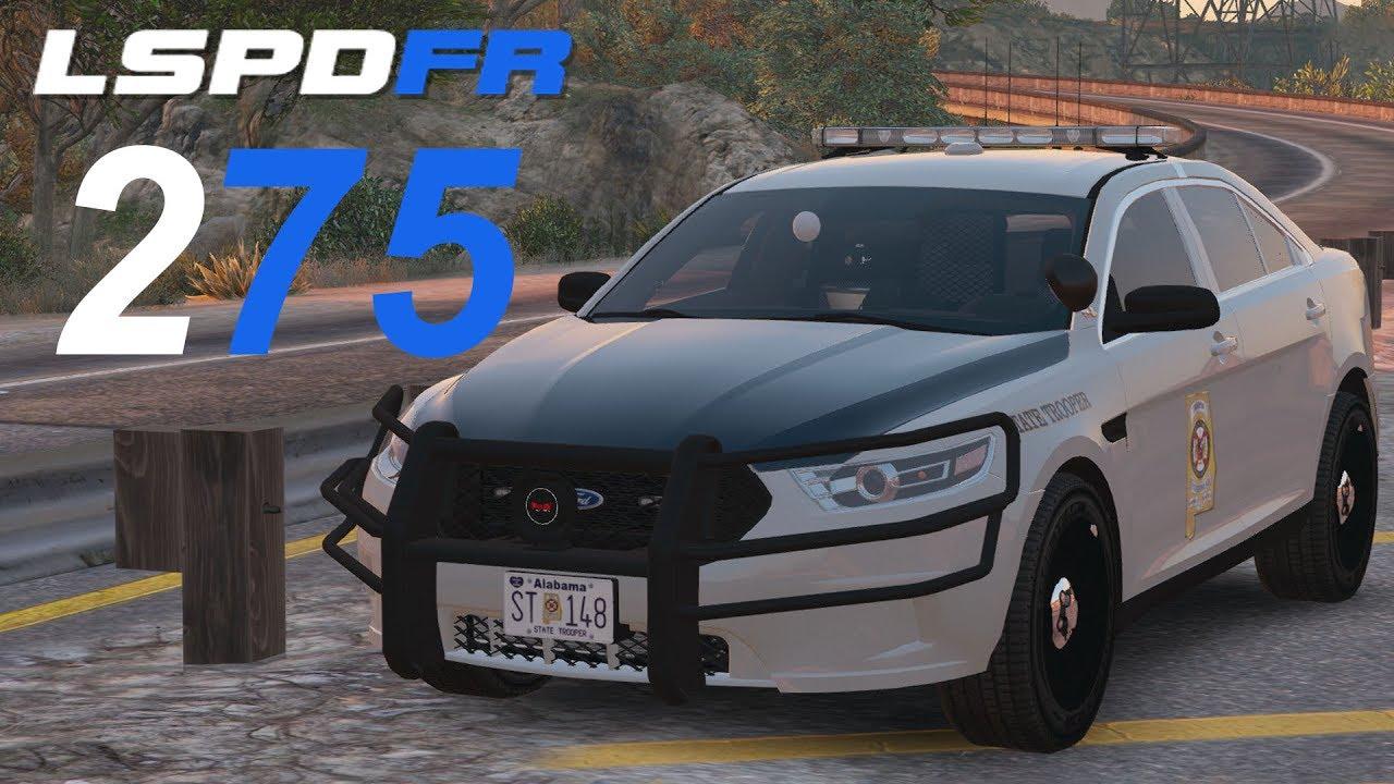 GTA 5 LSPDFR SP 275 Alabama State Police  YouTube