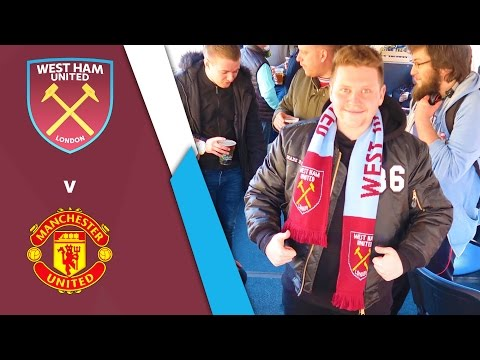 WEST HAM UNITED VS MANCHESTER UNITED (Premier League 16/17)
