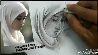 Download Video Keren,tutorial menggambar wajah wanita berhijab | no timelaps MP3 3GP MP4