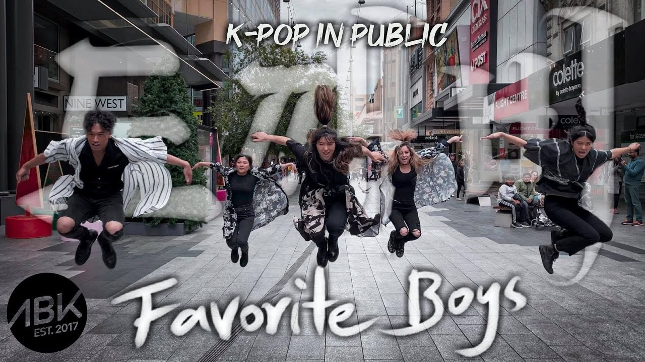 [K-POP IN PUBLIC] A.C.E (에이스) - Favorite Boys (도깨비) Dance Cover by ABK Crew from Australia
