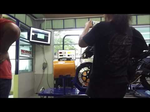 Dyno Run Suzuki GSX-R 150  At Farm Tuning Mainline Dynolog Dynamometer