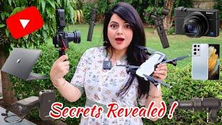 How I Shoot My YouTube Videos | Priyanka Tiwari