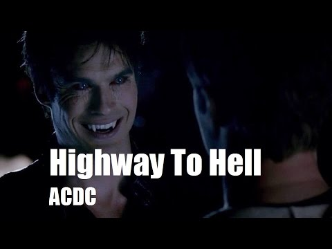 damon salvatore highway to hell youtube. Black Bedroom Furniture Sets. Home Design Ideas