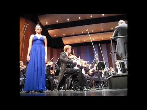 Ah, je veux vivre-Romeo et Juliette sung by Nadine Sierra