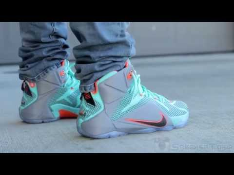 Nike LeBron 12 NSRL on Feet - YouTube