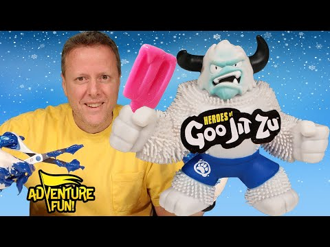 "What's Inside 17 Heroes Of Goo Jit Zu Including Ultra Rare ""Frostbite"" Adventure Fun Toy Review!"