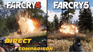 Far Cry 4 vs Far Cry 5 | Direct Comparison