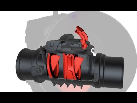 Канализационный обратный клапан -Staufix Backwater Valves - BLACK Is The New ORANGE!