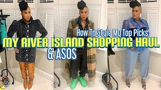My River Island/ASOS Shopping Haul | How To Style My Top Picks