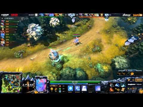 EG vs Secret - DAC 2015 - Consolidation Finals - G1