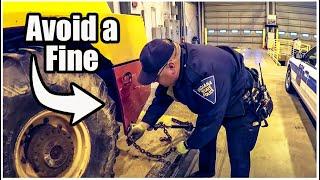 Proper Load Securement | DOT Compliance when Hauling Equipment