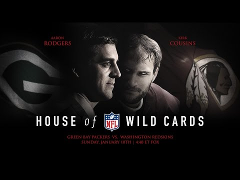 House of Wild Cards: Packers vs. Redskins Wild Card Weekend Movie Trailer | NFL
