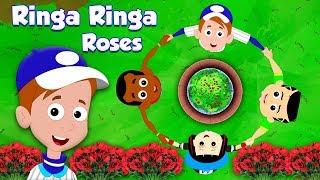 ринга ринга розы   детские и детские песни   Ringa Ringa Roses   Baby Nusery Songs   Toddler Rhymes