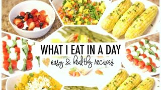 What I Eat in a Day | Easy & Healthy Recipes