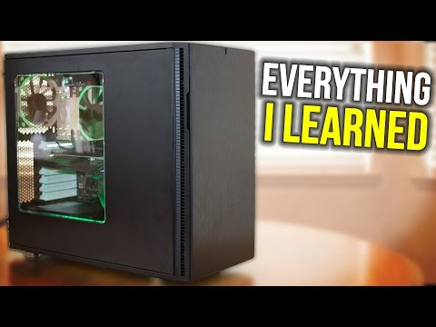 Everything I Learned From Building My First Gaming PC | How Hard Was It?