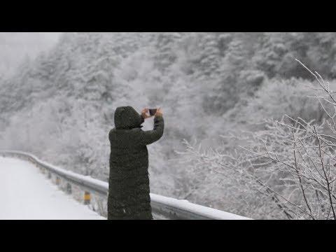Snowfall Creates Gorgeous Winter Scenery Across China