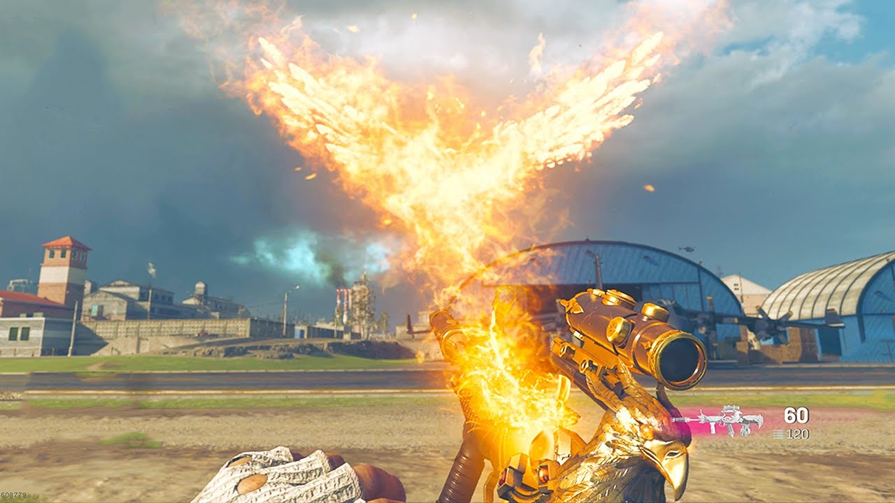 THEY ADDED A GUN THAT'S LITERALLY A PHOENIX IN WARZONE 😲