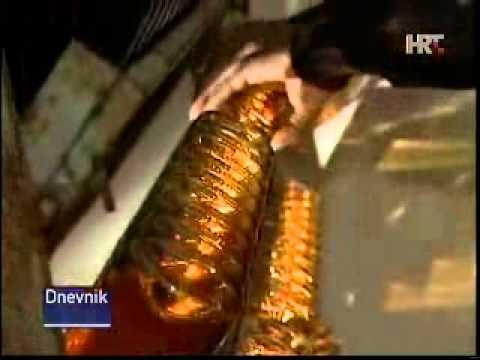 Prilog O Kutjevačkim Pjenušcima - Dnevnik HRT 01.01. 2012.