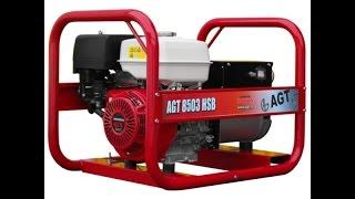 Трехфазный бензиновый генератор AGT 8503 HSB с двигателем Honda(, 2016-03-22T13:25:04.000Z)