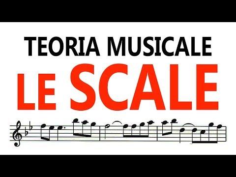 Teoria Musicale - LE SCALE